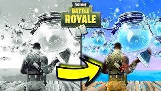 Seeing Fortnite In FULL COLOUR For The First Time...   Fortnite Season 3