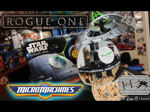 Star Wars Rogue One Micro Machines Death Star Playset Review & unboxing + Star Wars StudioFx Code