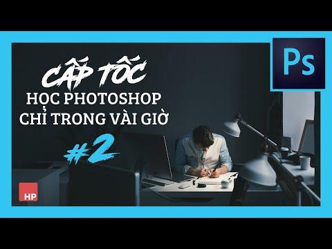 Tự học Photoshop Cấp Tốc - BÀI 2 - Cách chỉnh da, bóp mặt và dàn trang Photobook