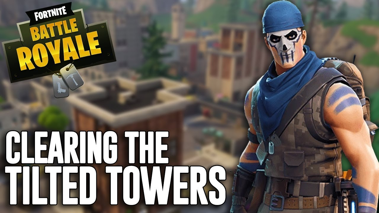 Clearing The Tilted Towers Fortnite Battle Royale Gameplay Ninja