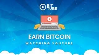 Earn BTC Watching Youtube - Bitcoin Faucet - Free Bitcoin