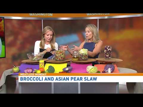"Kristen Coffield of The Culinary Cure - ""Make my Salad a Slaw!"" Good Morning Washington"
