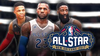NBA LIVE 18: ALL-STAR GAME | HD 5v5 Gameplay