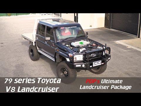 PDP's Ultimate VDJ79 Toyota Landcruiser V8 Package