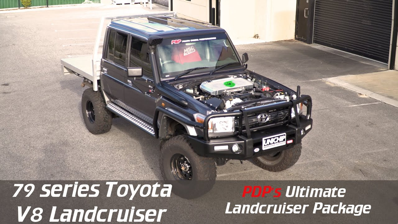 Pdp S Ultimate Vdj79 Toyota Landcruiser V8 Package Youtube