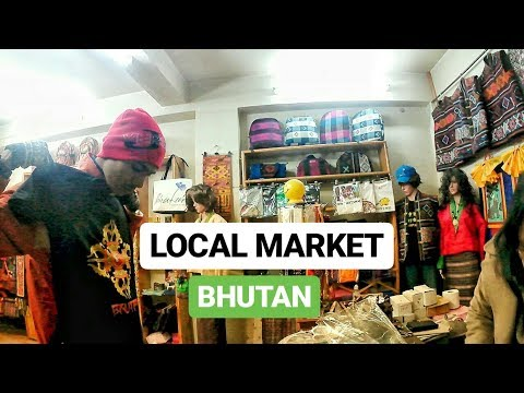 VERY EXPENSIVE MARKET IN THIMPHU BHUTAN | EXPLORE LOCAL MARKET