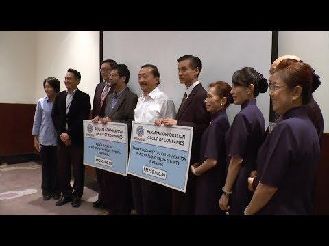 Vincent Tan donates RM500,000 to aid Penang flood victims