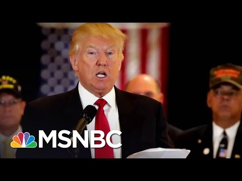 Donald Trump Attempts To Avoid Controversy By Dissolving His Foundation | Rachel Maddow | MSNBC