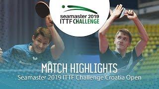 Anton Kallberg vs Kristian Karlsson | 2019 ITTF Challenge Croatia Open (Final)