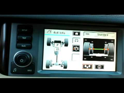Land Rover Discovery >> Range Rover Minutia - Terrain Response Controls - YouTube