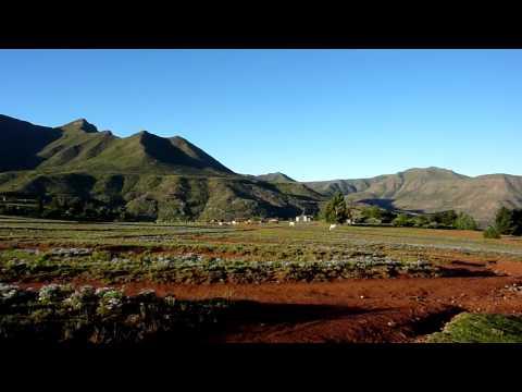 Lesotho - Riders For Health tour - Nov09 - Evening Walk