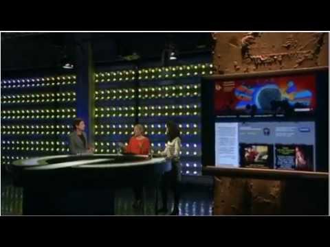 Microphone francophone à TV5 - Reportage sur l'émission radio de Martin FERRON