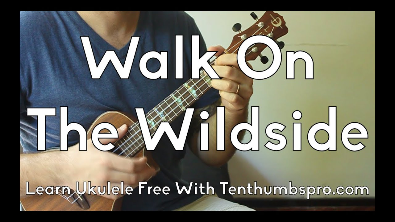 Walk On The Wildside Lou Reed Easy Ukulele Beginner Song