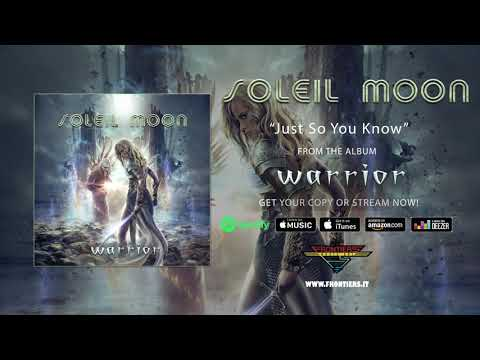 """Soleil Moon - """"Just So You Know"""" (Official Audio)"""