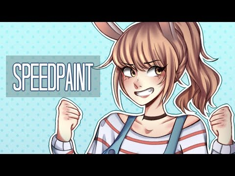 Sailor Bunny 「Paint Tool Sai Speedpaint」