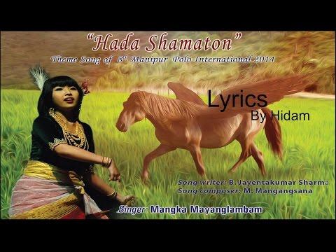 Hada Samaton Ayangba Lyrics || Mangka || Sangai Festival 2014