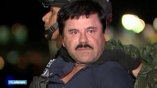 Hij zal toch niet weer ontsnappen? Zo wordt 'El Chapo'  vervoerd - RTL NIEUWS