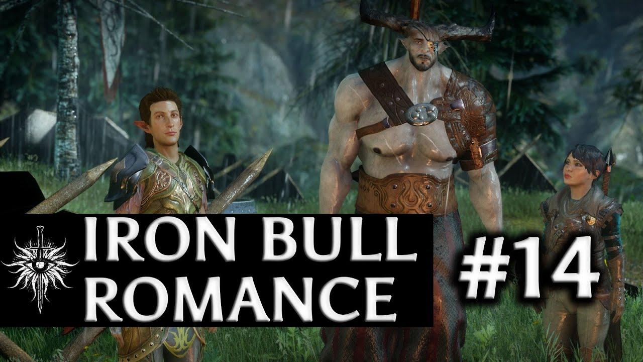 iron bull dwarf romance