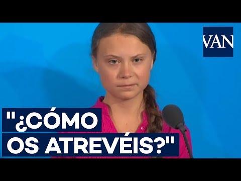 Greta Thunberg a los líderes mundiales: ¿Cómo os atrevéis?