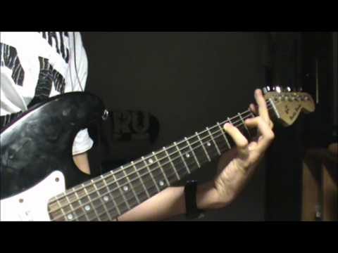 THE REINCARNATION OF BENJAMIN BREEG IRON MAIDEN GUITAR COVER WITH SOLO