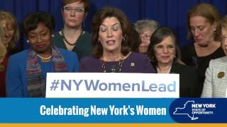 """The State of New York 3/3/17 - """"NY Women Lead"""""""