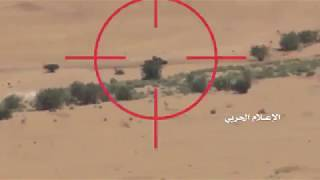 Best scenes of Yemeni accurate ambushes on  Saudi military vehicles in Najran
