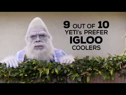 Rare Footage Proves Yeti's Prefer Igloo Coolers