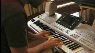 LIVE DJ FLO - Deliver our souls from evil 2009 - Trance LIVE on Keyboard Synth