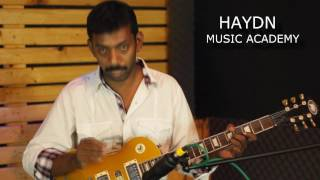 Guitar lessons in tamil by xavier