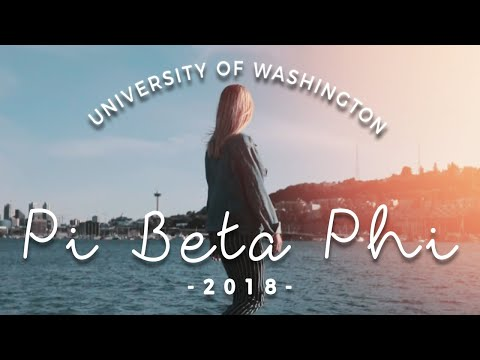 Found You | UW Pi Beta Phi - Recruitment 2018