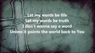 words hawk nelson feat bart millard lyrics