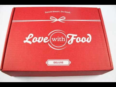Love with Food October 2016 Deluxe Box Unboxing + Coupon