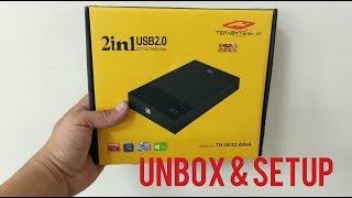 Terabyte 2 in 1 USB 2.0 SATA 2.5
