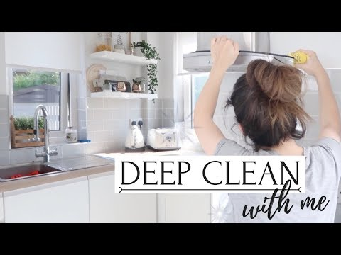 CLEAN MY HOUSE WITH ME! | WEEKLY CLEANING MOTIVATION 2018