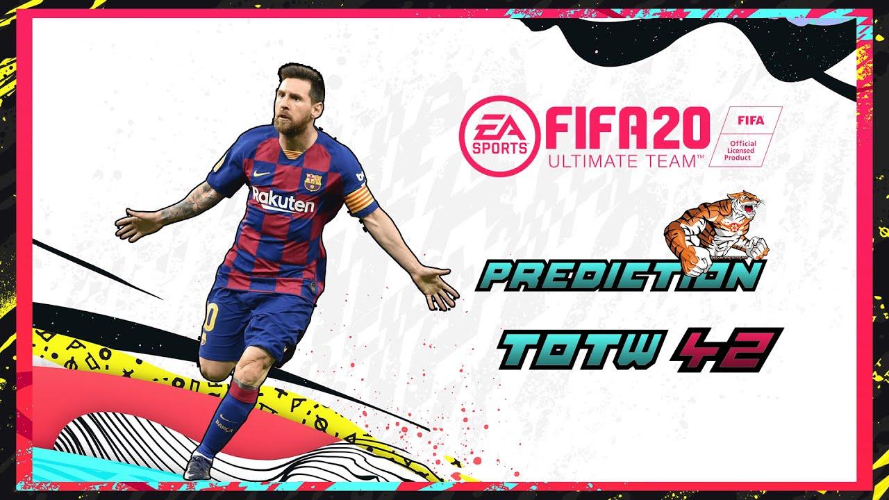 FIFA 20: Predictions Team of the Week 42 #TOTW42