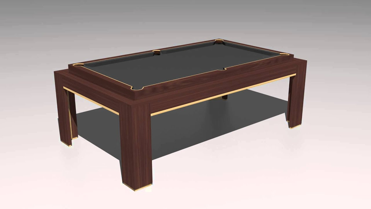 Spartan Rollover Animation Pool Dining Table Youtube