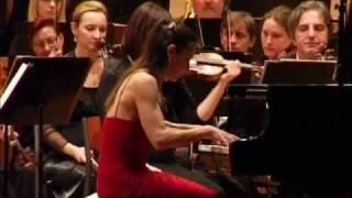 Nadia Weintraub plays Dvořák  - Piano Concerto in G minor - I. Allegro agitato [1/2]