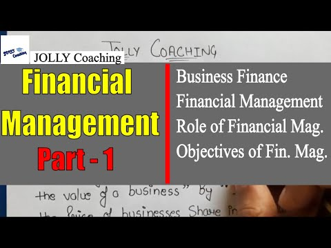 #1 Business Finance | Financial Management | Class 12 | Business Studies | In Hindi | JOLLY Coaching