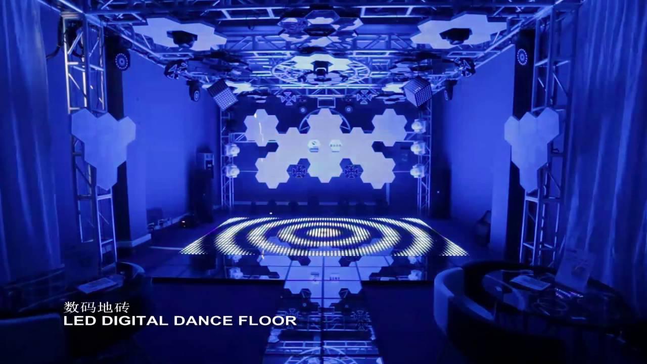 art lighting amazing led wall ceiling floor stage decoration youtube