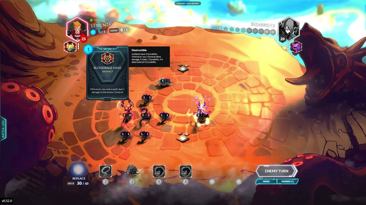 Duelyst Turns the Collectible Card Game Up a Notch :: ZAM