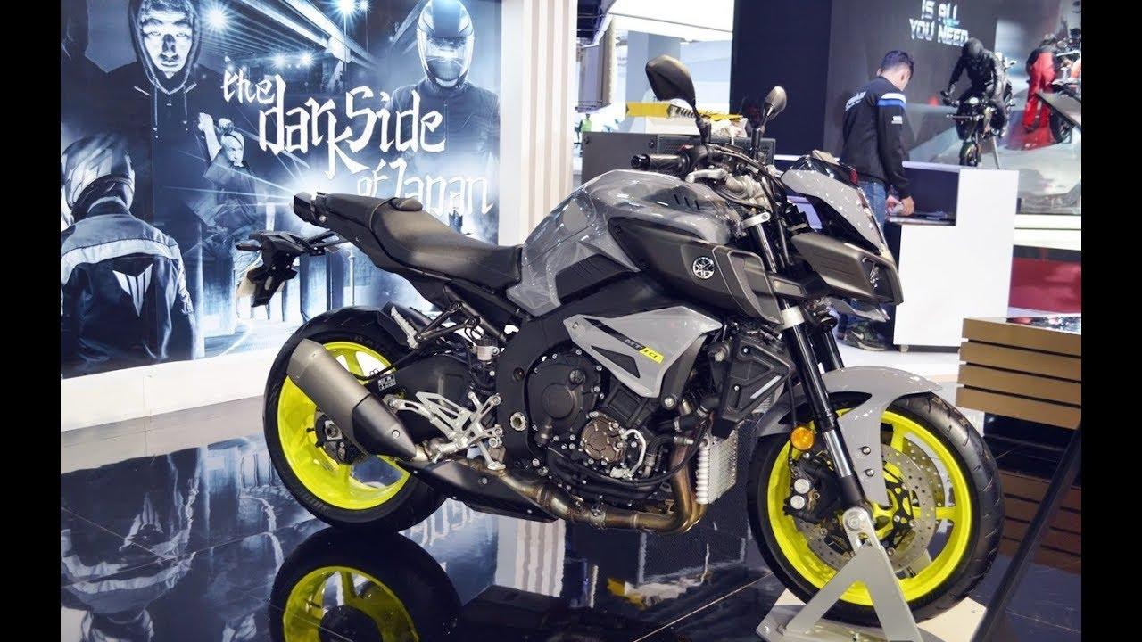 2018 Yamaha MT-10 price USD 12,999 | 2018 Yamaha MT-10 at 2018 India Auto  Expo