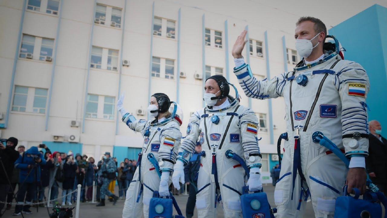 Вызов: мгновения до старта. Хронология подготовки к старту и стыковке с МКС