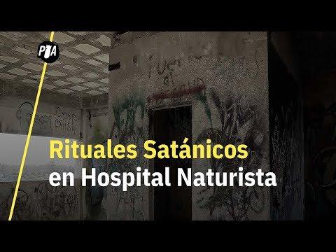Visitamos hospital abandonado en Ciudad Madero, donde hacían ritos satánicos