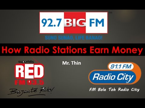 How Radio Station Earns Money | Red FM, Radio City, Big fm Business Model