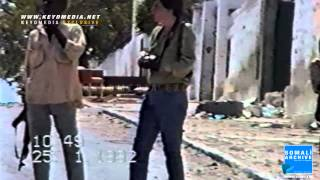 Foreign reporter in Mogadishu after the collapse of the Siad Barre regime in 1991