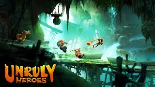 Unruly Heroes [Gameplay, PC]