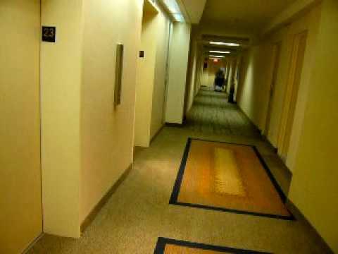 Otis traction elevator - Crowne Plaza Hotel Ottawa