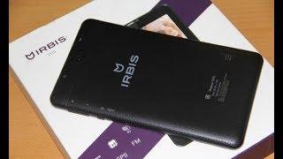 Показую мій новий планшет IRBIS TZ173 розпакування ціна 4690р 16 р