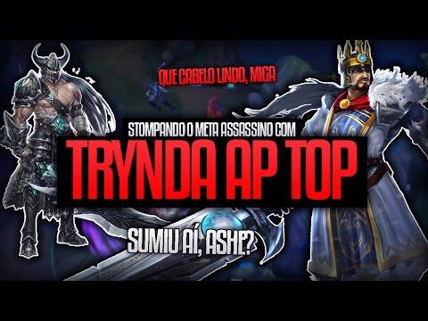 TRYNDA AP TOP - DANO + SPLIT PUSH + HEAL INSANO! - Gratis150ml