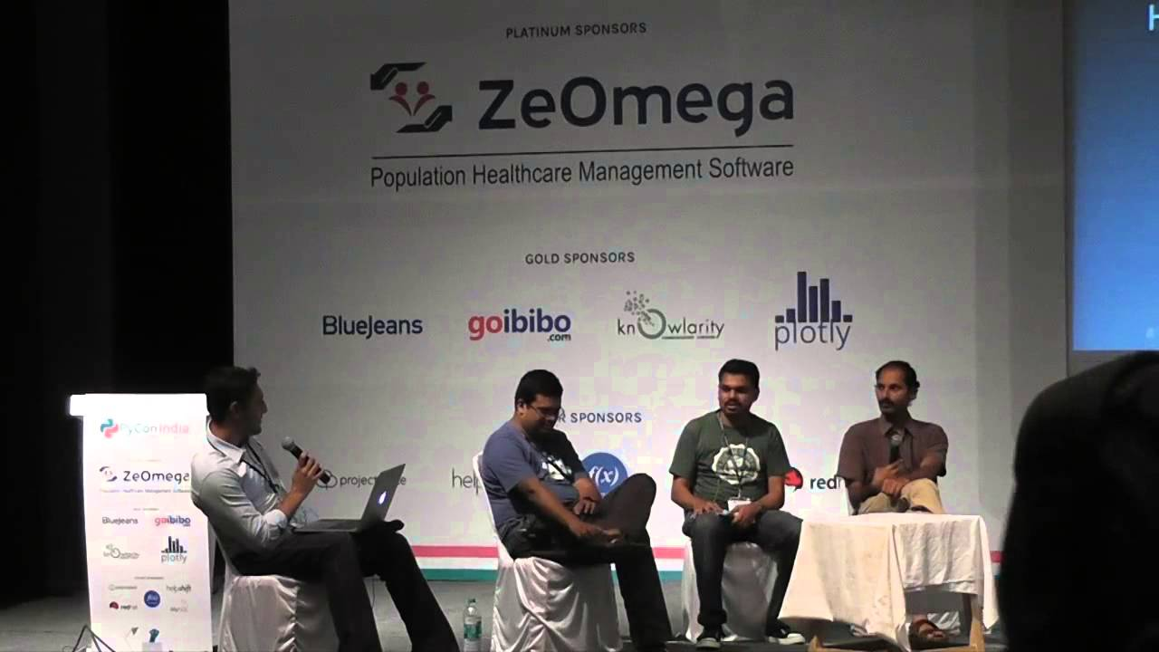 Image from Panel Discussion Flask vs Django vs web py